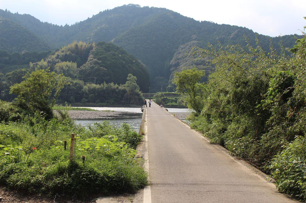 佐田沈下橋-5