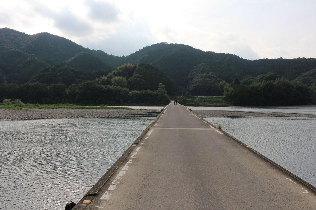 佐田沈下橋-1
