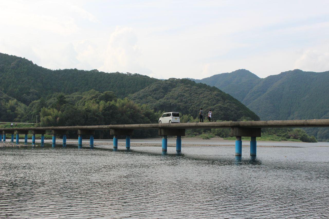 佐田沈下橋-2
