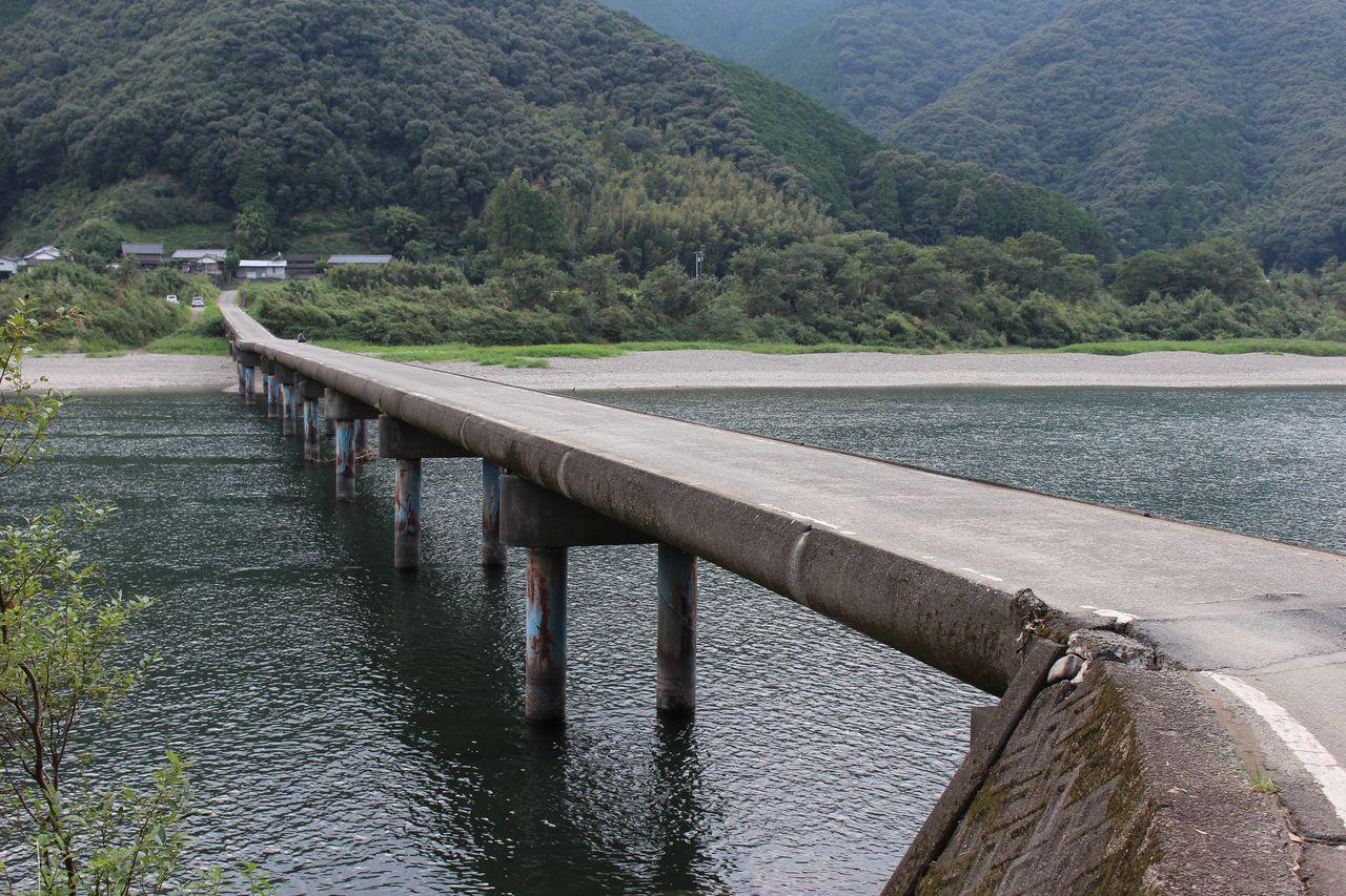 高瀬沈下橋-2