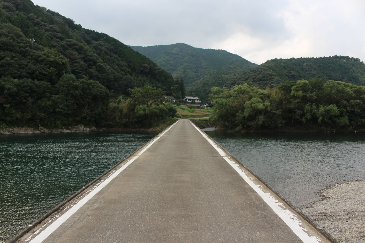 勝間沈下橋-2