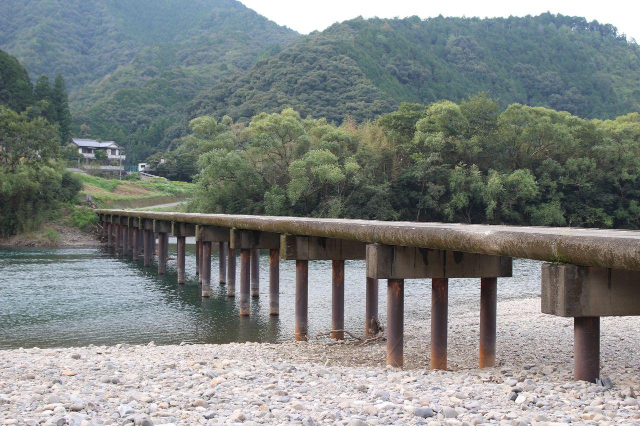 勝間沈下橋-3