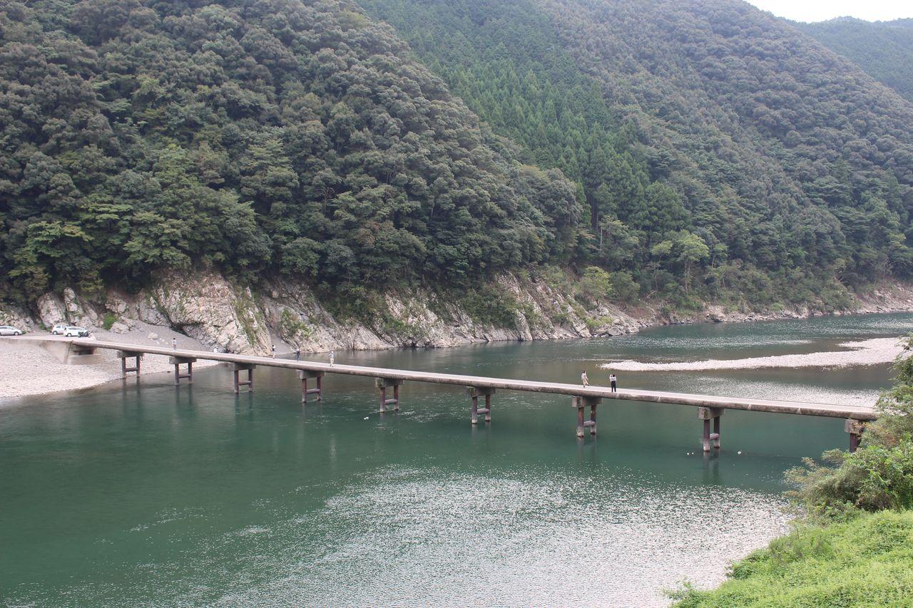 岩間沈下橋-1