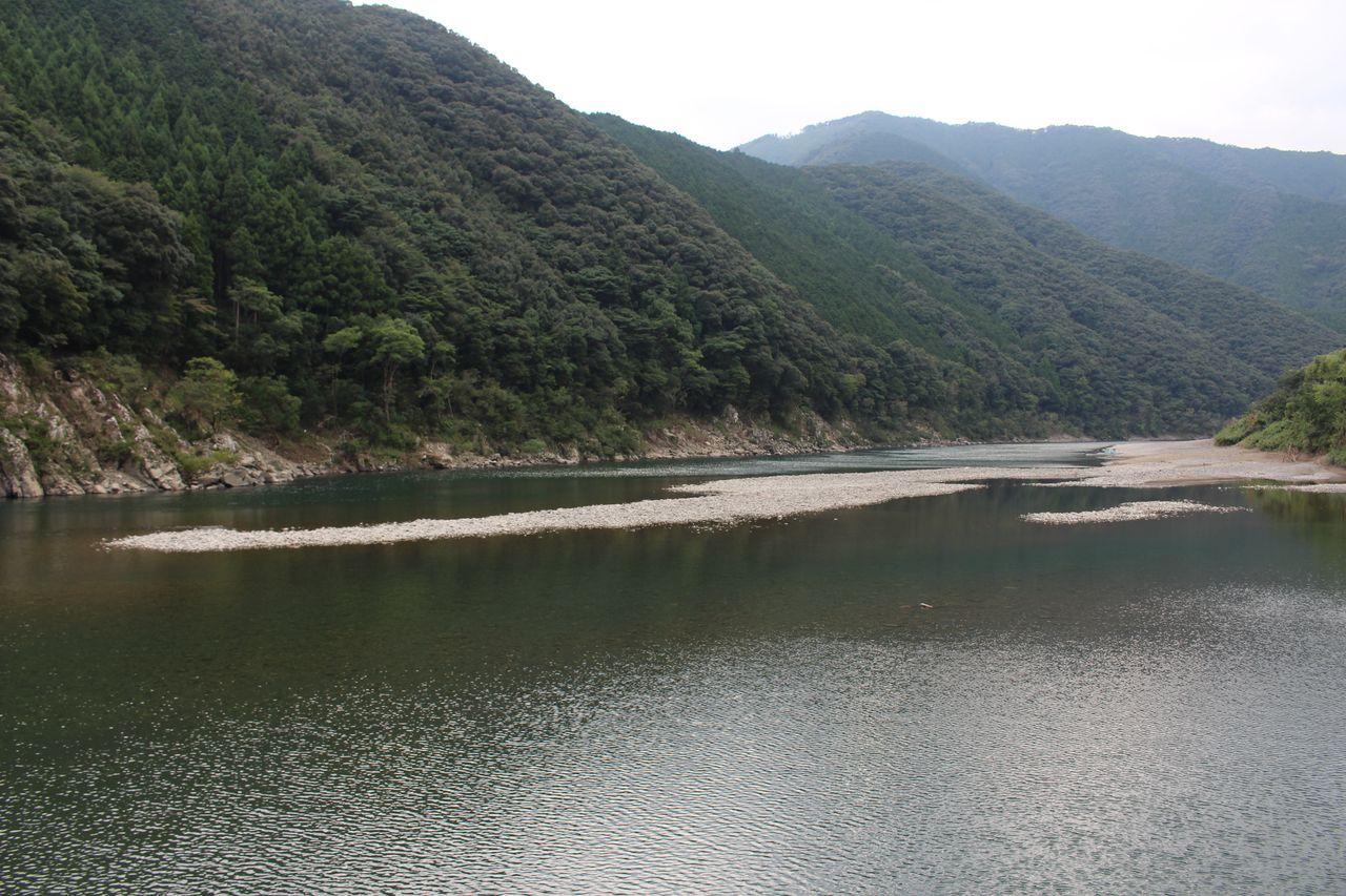 岩間沈下橋-4
