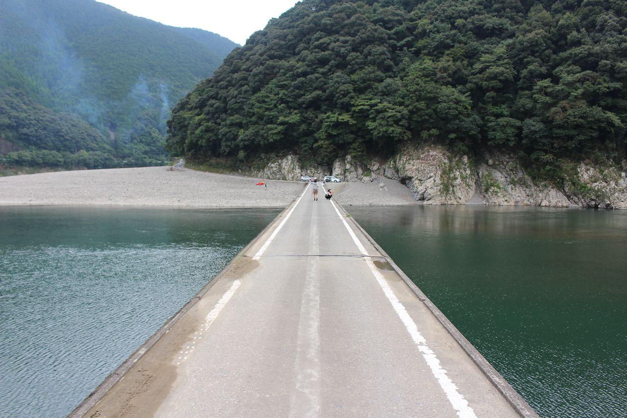 岩間沈下橋-3