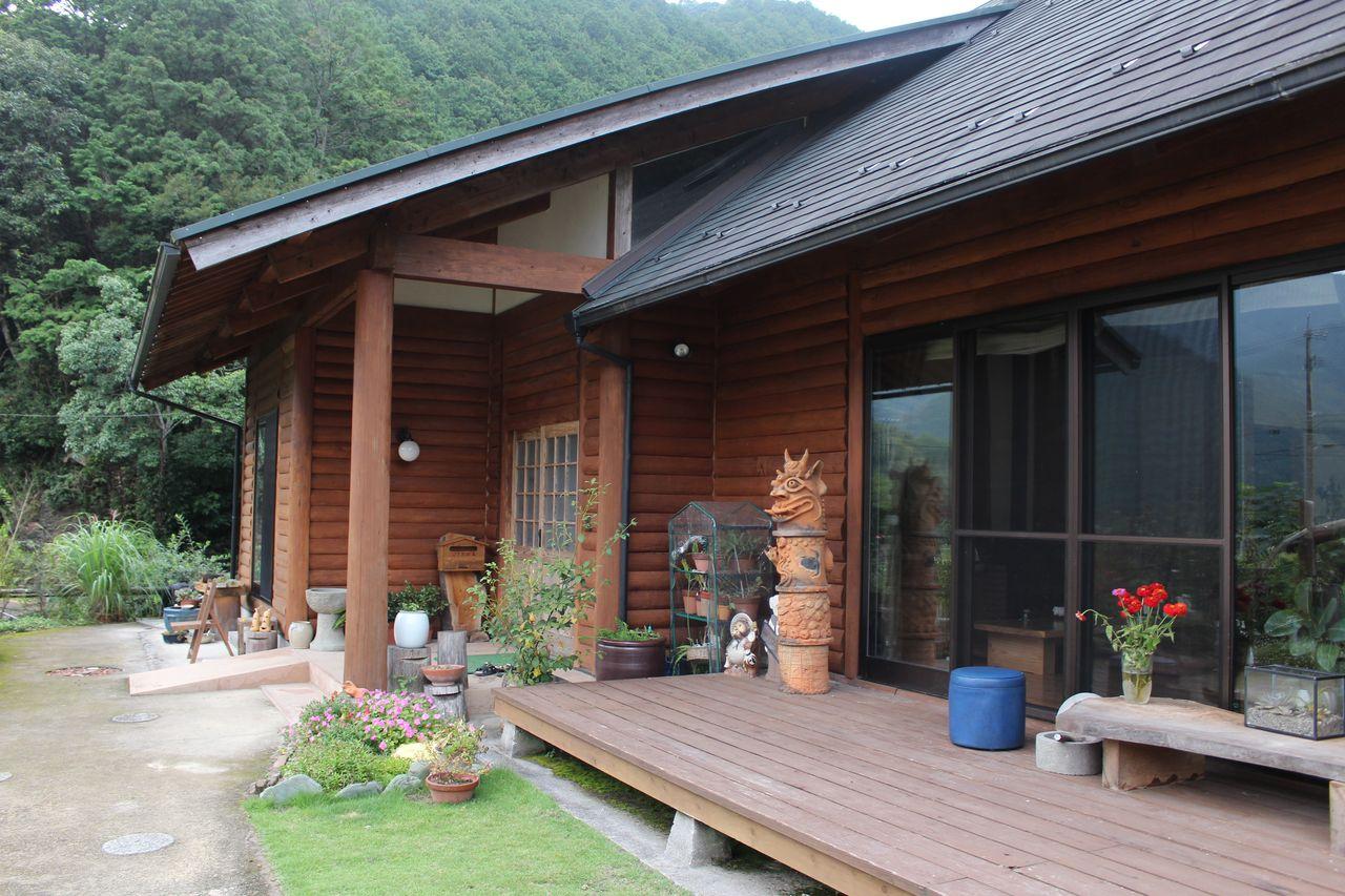 ログ 杉の家-4
