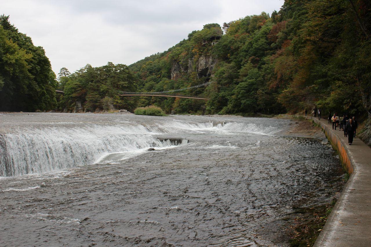 吹割の滝-38