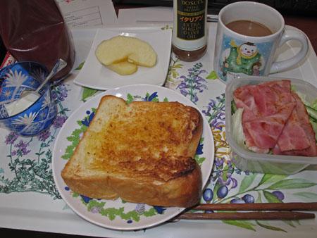 社長の朝食