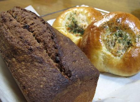 2月5日 パンとケーキ