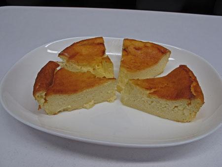 2月24日 チーズケーキ2