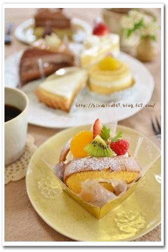 ウレシ・オイシ・ケーキ♪