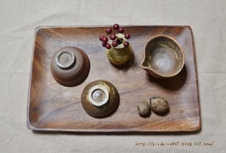 益子陶器市で買ってきた器たち