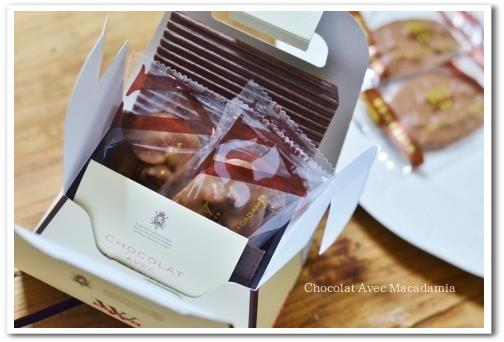 Chocolat Avec Macadamia