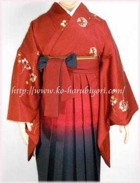 袴の着付け写真