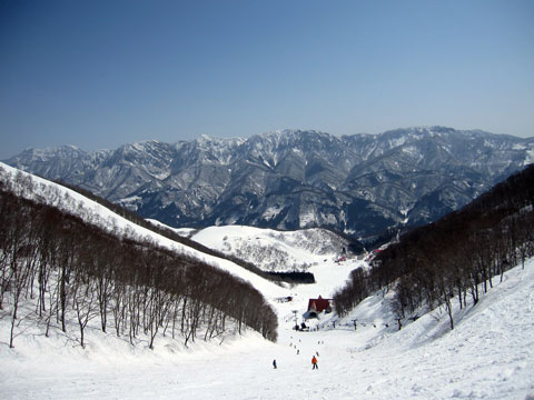 稗田山コース1頂上から