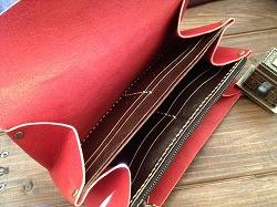 赤い長財布201502282