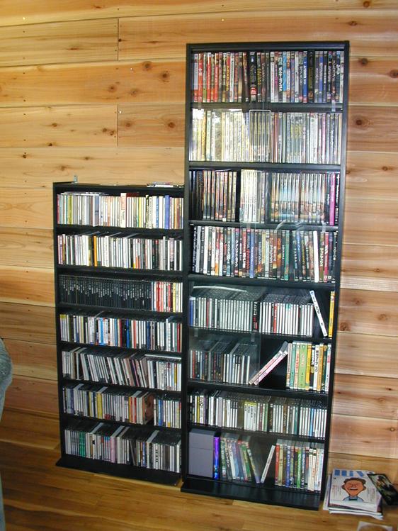 DVD&CDラック