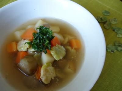 20155うち豆スープ