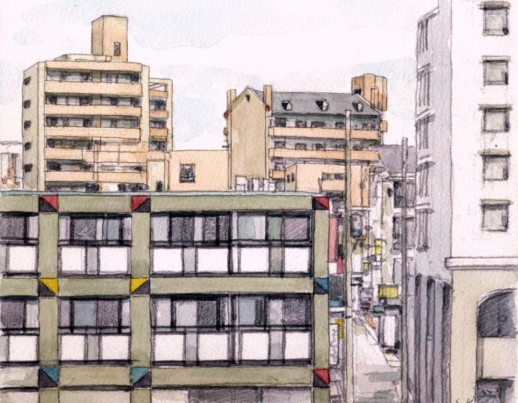 枚方駅前の風景