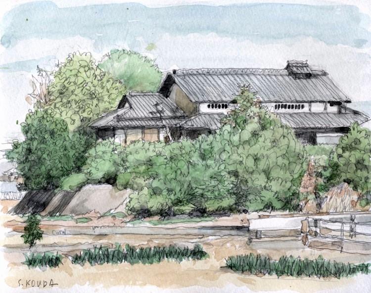 久御山の農家3 (750x593)