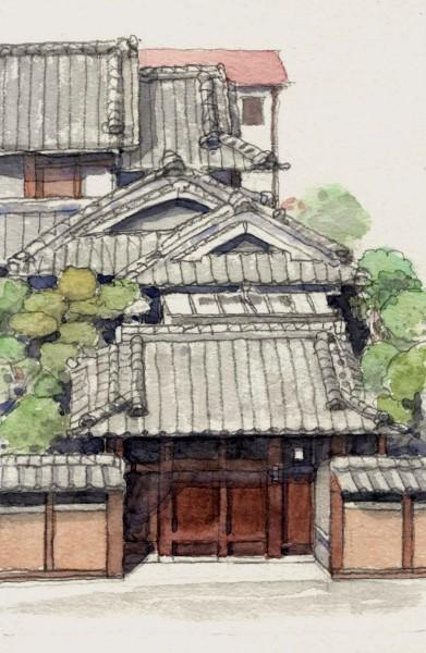 摂津の旧家 (391x600)