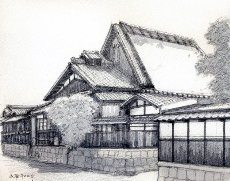 京田辺の旧家 グリザイユ (750x588)