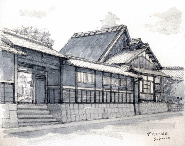 京田辺の旧家2 グリザイユ (750x592)