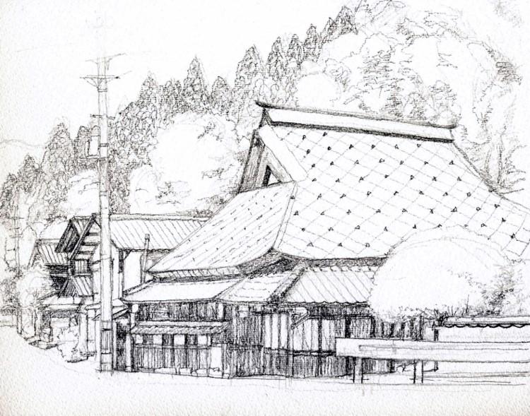 能勢町天王 デッサン (750x589)