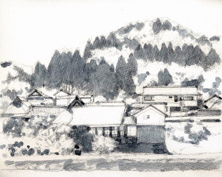 能勢天王の風景3 グリザイユ (750x598)