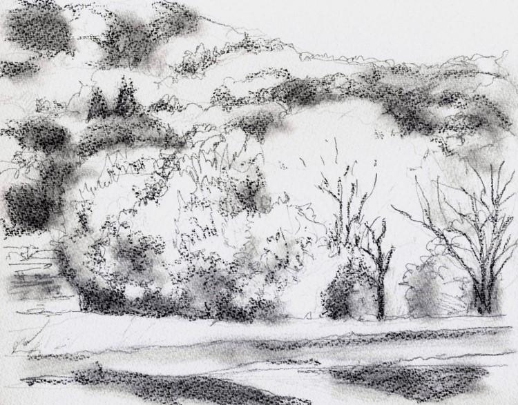 交野の風景1 グリザイユ (750x587)