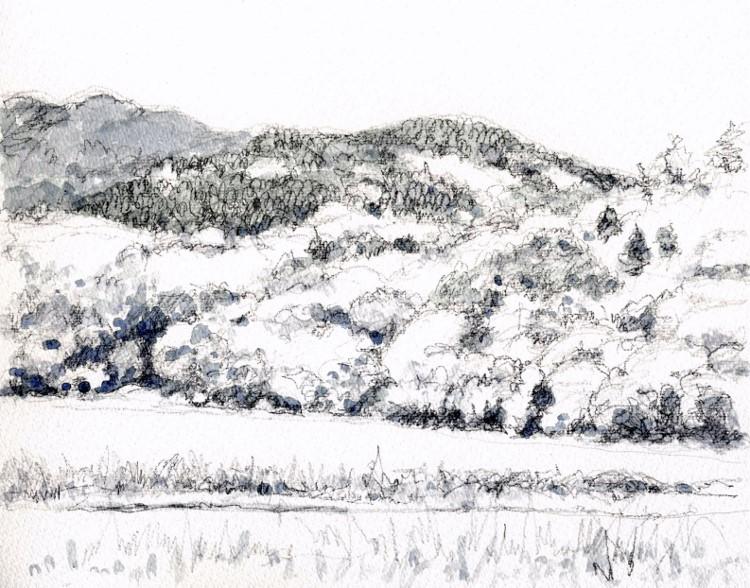 猪名川の山里 グリザイユ (750x588)