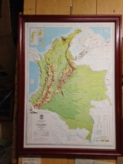 コロンビアmap