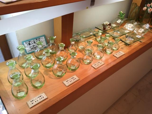萩ガラス工房 ④