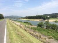 一鍬田の河道掘削2