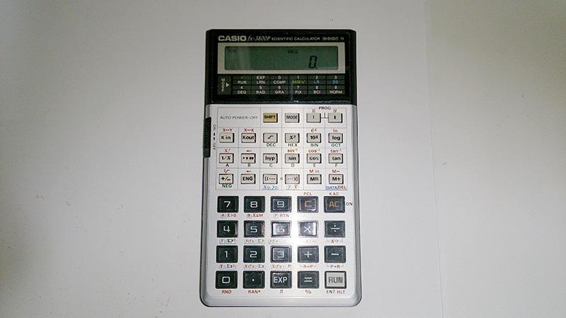CASIO fx-3800P