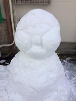 2015雪だるま