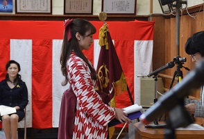 卒業式2015年3月