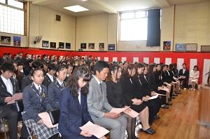 2015年4月4日入学式 (2)