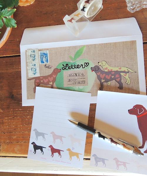 レターセット 封筒の使用例サンプル画像