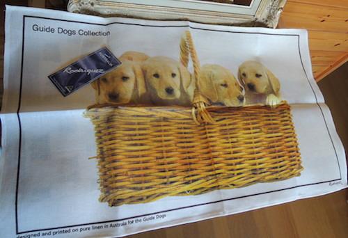 オーストラリア盲導犬協会限定リネンタオル20150823-1