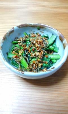 0510小松菜ジャコ炒め