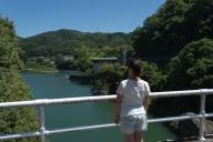 蘇水峡橋から下流側