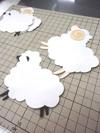 モビール羊②