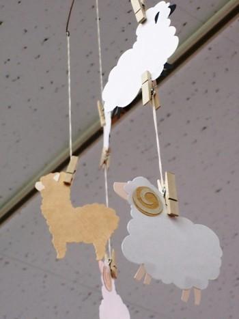 モビール羊④