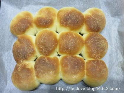 形無しちぎりパンが焼けました