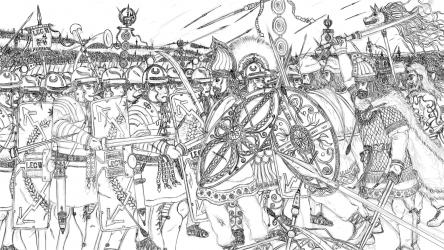 ダキア戦争絵図