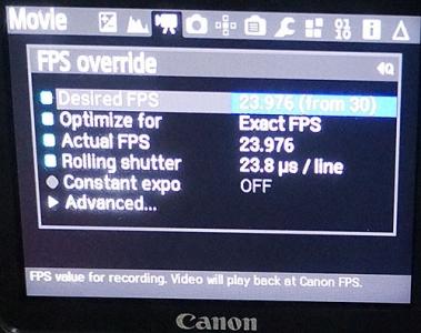 fps Override