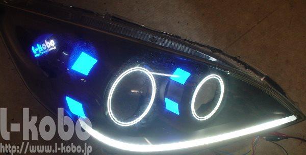 ステップワゴンヘッドライト2