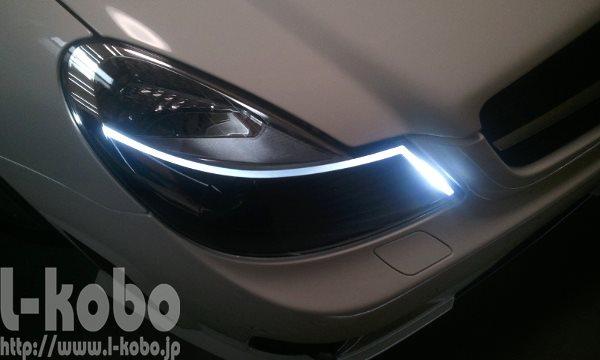 ベンツSL(R230)ヘッドライト加工