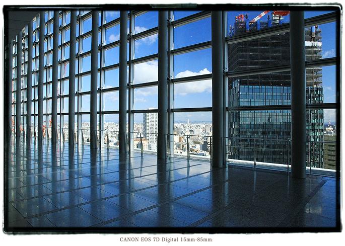 JRセントラルタワーズスカイストリートから見た新大名古屋ビルヂング1402nagoyasky09.jpg